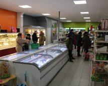 Overzicht supermarkt